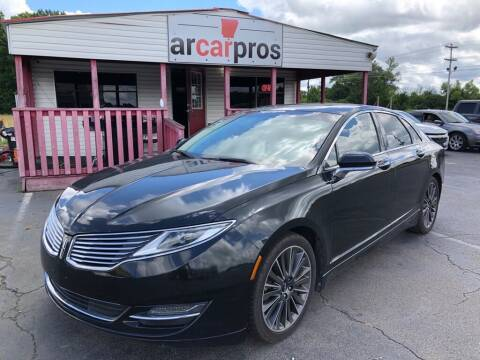2015 Lincoln MKZ for sale at Arkansas Car Pros in Cabot AR