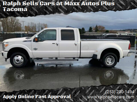 2015 Ford F-350 Super Duty for sale at Ralph Sells Cars at Maxx Autos Plus Tacoma in Tacoma WA