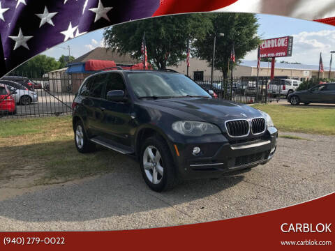 2007 BMW X5 for sale at CARBLOK in Lewisville TX