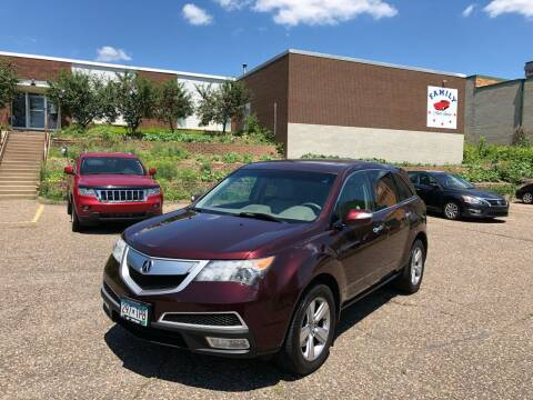 2010 Acura MDX for sale at Family Auto Sales in Maplewood MN