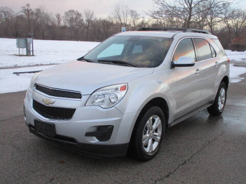 2012 Chevrolet Equinox for sale at Triangle Auto Sales in Elgin IL
