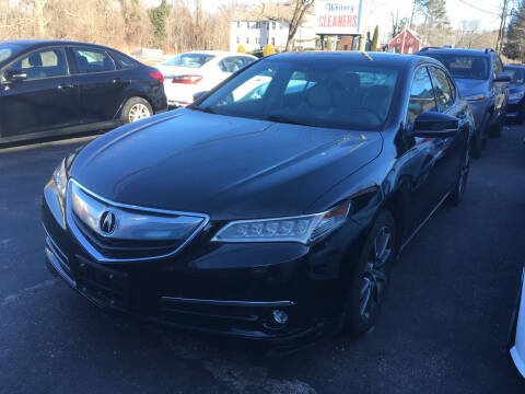 2017 Acura TLX for sale at MELILLO MOTORS INC in North Haven CT