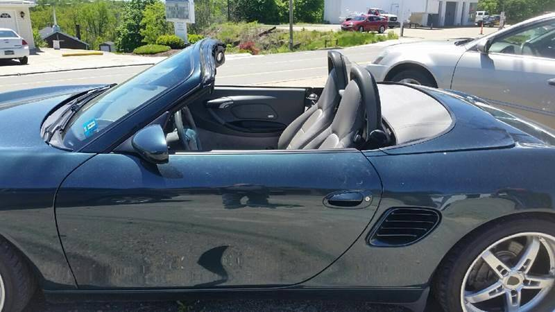 2003 Porsche Boxster for sale at Rash Automotive Used Cars Sales & Service in Weirton WV