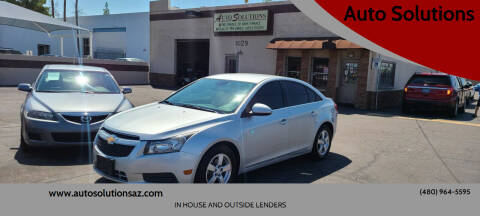 2012 Chevrolet Cruze for sale at Auto Solutions in Mesa AZ