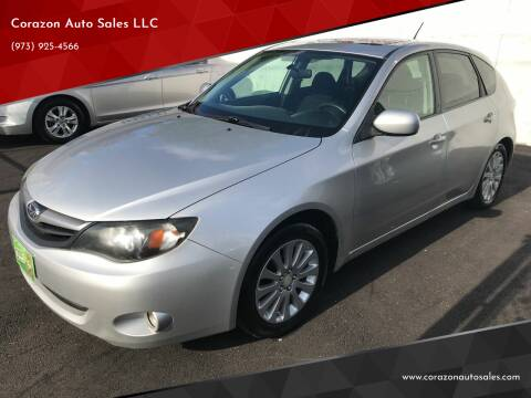 2010 Subaru Impreza for sale at Corazon Auto Sales LLC in Paterson NJ