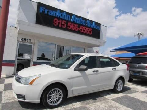 2009 Ford Focus for sale at Franklin Auto Sales in El Paso TX