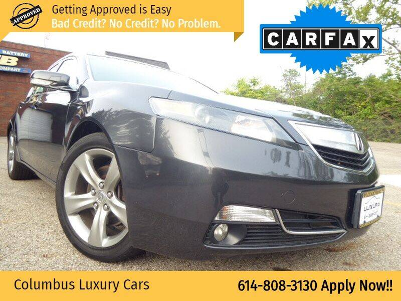 2012 Acura TL for sale at Columbus Luxury Cars in Columbus OH