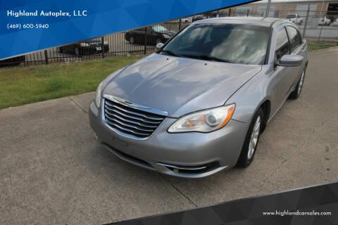 2013 Chrysler 200 for sale at Highland Autoplex, LLC in Dallas TX