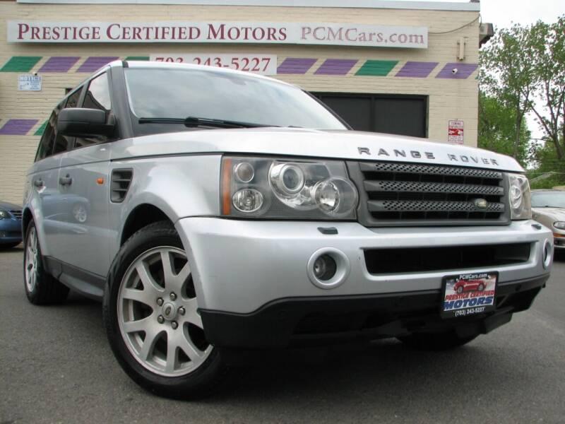 2008 Land Rover Range Rover Sport for sale at Prestige Certified Motors in Falls Church VA