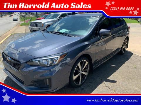 2017 Subaru Impreza for sale at Tim Harrold Auto Sales in Wilkesboro NC