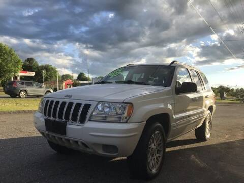 2003 Jeep Grand Cherokee for sale at Deluxe Auto Group Inc in Conover NC