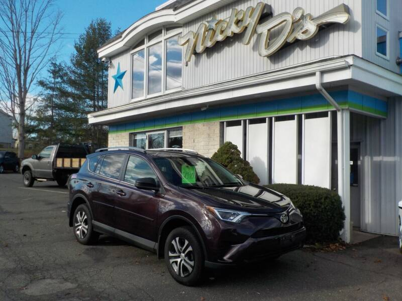 2018 Toyota RAV4 for sale at Nicky D's in Easthampton MA