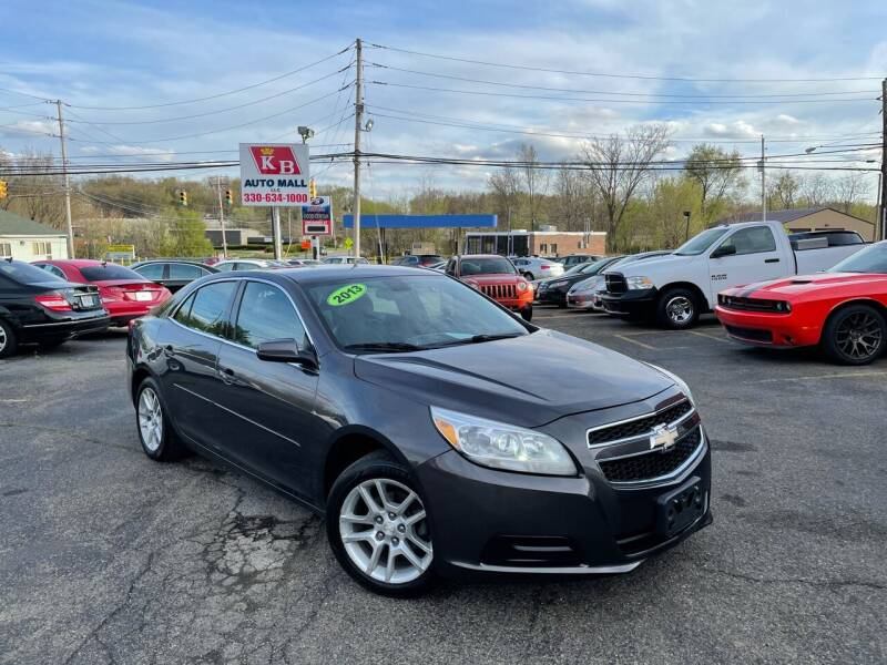 2013 Chevrolet Malibu for sale at KB Auto Mall LLC in Akron OH