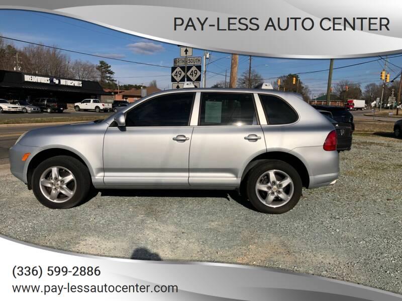 2006 Porsche Cayenne for sale at Pay-Less Auto Center in Roxboro NC