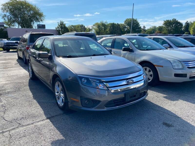2012 Ford Fusion for sale at Lakeshore Auto Wholesalers in Amherst OH