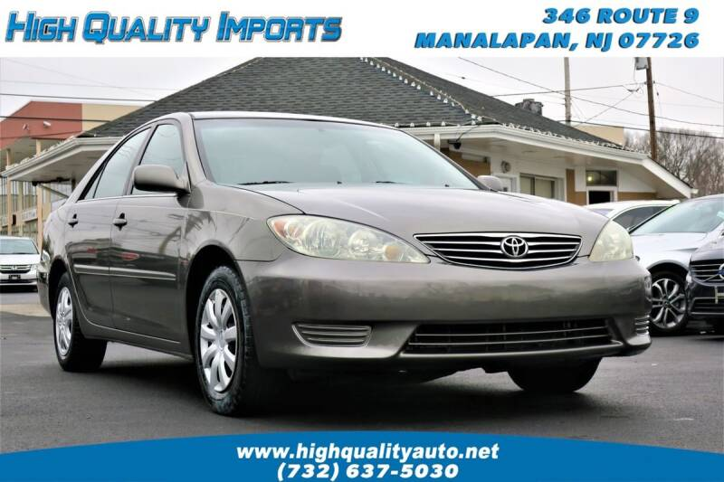 2006 Toyota Camry for sale at High Quality Imports in Manalapan NJ