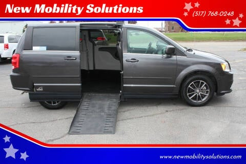 2017 Dodge Grand Caravan for sale at New Mobility Solutions in Jackson MI