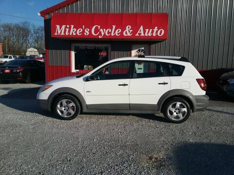 2006 Pontiac Vibe for sale at MIKE'S CYCLE & AUTO in Connersville IN