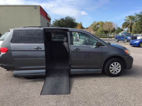 2010 Honda Odyssey for sale at The Mobility Van Store in Lakeland FL