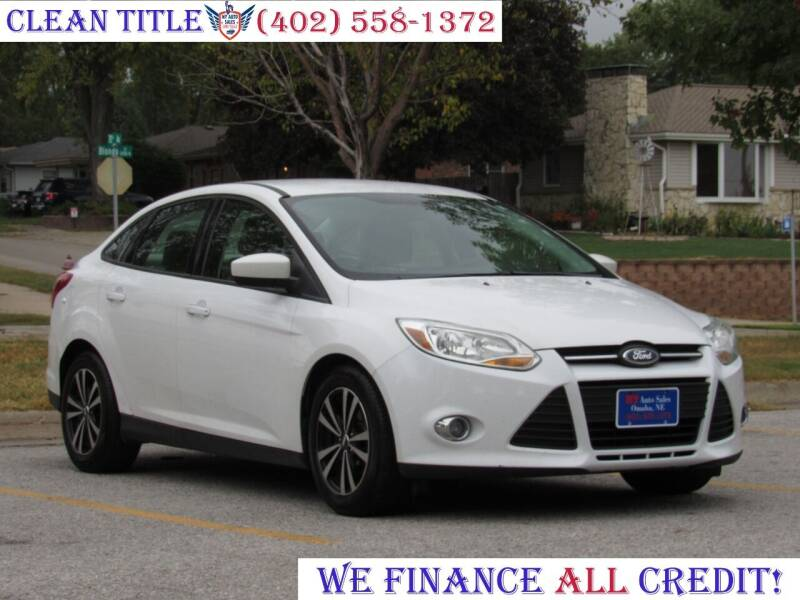 2012 Ford Focus for sale at NY AUTO SALES in Omaha NE