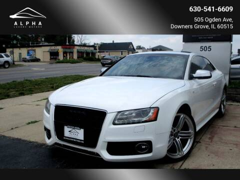 2011 Audi S5 for sale at Alpha Luxury Motors in Downers Grove IL