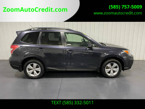 2014 Subaru Forester for sale at ZoomAutoCredit.com in Elba NY