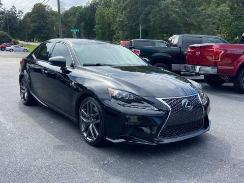2016 Lexus IS 300 for sale at Luxury Auto Innovations in Flowery Branch GA