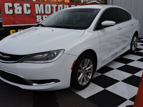 2016 Chrysler 200 for sale at C & C Motor Co. in Knoxville TN