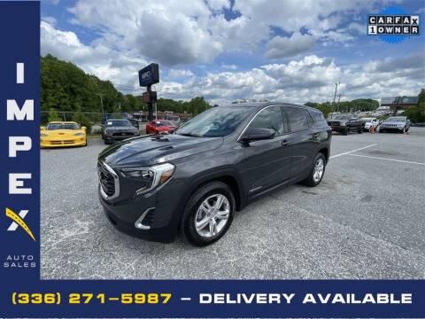 2018 GMC Terrain for sale at Impex Auto Sales in Greensboro NC