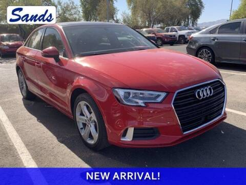 2018 Audi A3 for sale at Sands Chevrolet in Surprise AZ