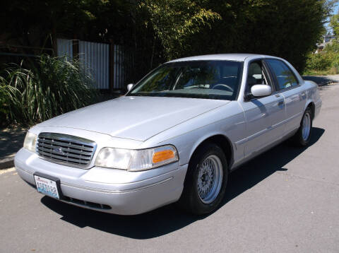 2000 Ford Crown Victoria for sale at Eastside Motor Company in Kirkland WA