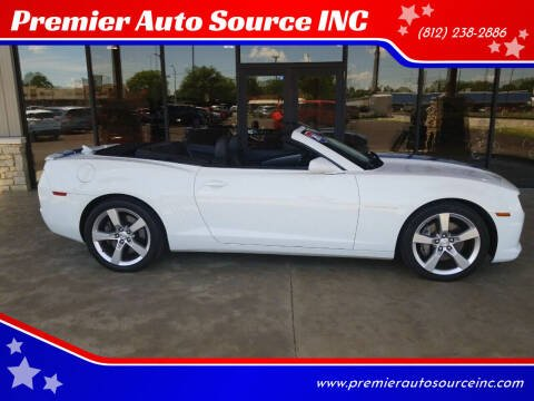 2012 Chevrolet Camaro for sale at Premier Auto Source INC in Terre Haute IN