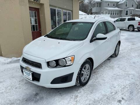 2012 Chevrolet Sonic for sale at Autowright Motor Co. in West Boylston MA