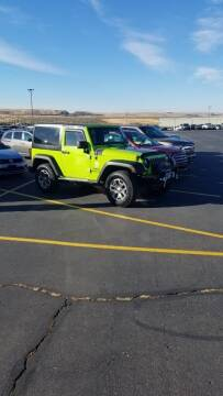 2013 Jeep Wrangler for sale at KNAPP AUTO in Lost River  (Moore) ID