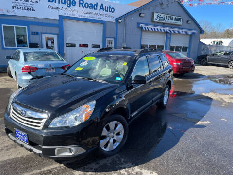 2011 Subaru Outback for sale at Bridge Road Auto in Salisbury MA