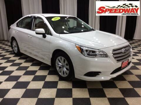 2015 Subaru Legacy for sale at SPEEDWAY AUTO MALL INC in Machesney Park IL
