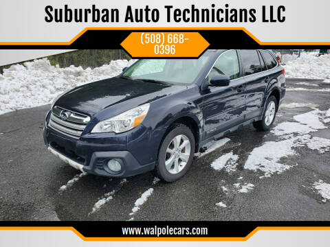 2013 Subaru Outback for sale at Suburban Auto Technicians LLC in Walpole MA