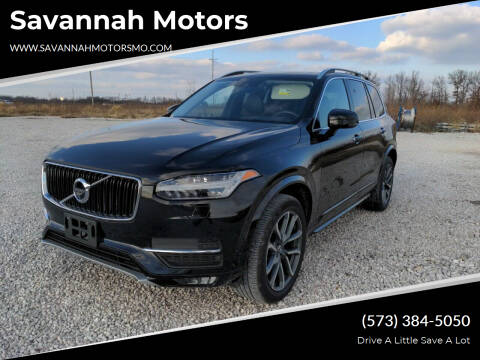 2017 Volvo XC90 for sale at Savannah Motors in Elsberry MO