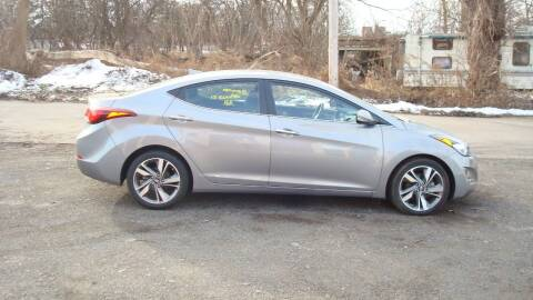 2015 Hyundai Elantra for sale at Franklin Auto Sales in Herkimer NY