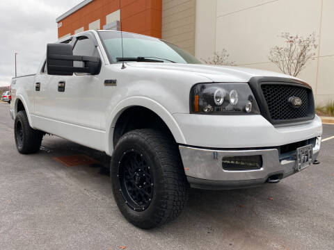 2004 Ford F-150 for sale at ELAN AUTOMOTIVE GROUP in Buford GA
