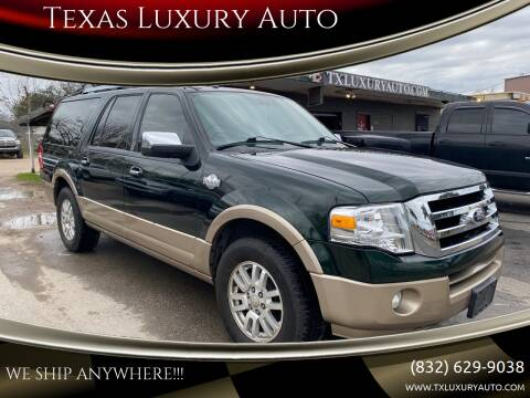 2013 Ford Expedition EL for sale at Texas Luxury Auto in Houston TX