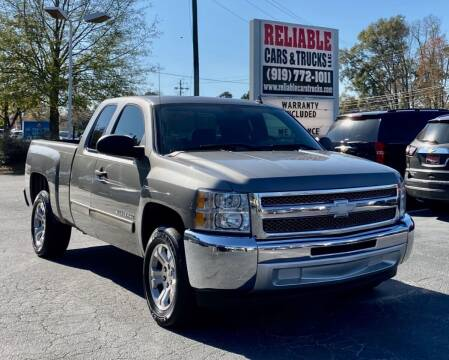2013 Chevrolet Silverado 1500 for sale at Reliable Cars & Trucks LLC in Raleigh NC