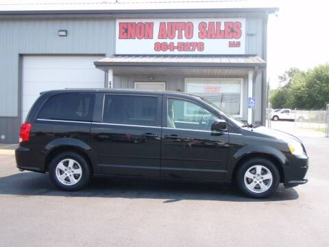 2012 Dodge Grand Caravan for sale at ENON AUTO SALES in Enon OH
