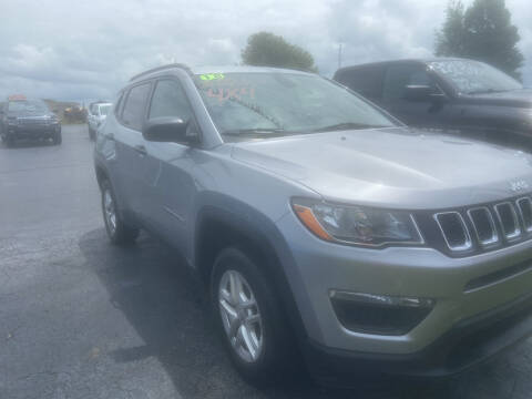2018 Jeep Compass for sale at EAGLE ONE AUTO SALES in Leesburg OH