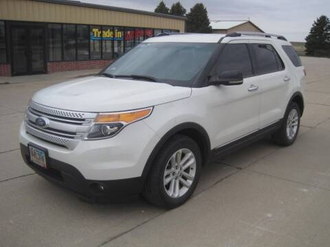 2012 Ford Explorer for sale at IVERSON'S CAR SALES in Canton SD