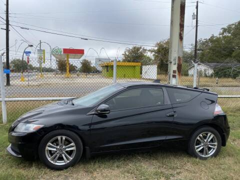 2013 Honda CR-Z for sale at C&R  MOTORS in San Antonio TX