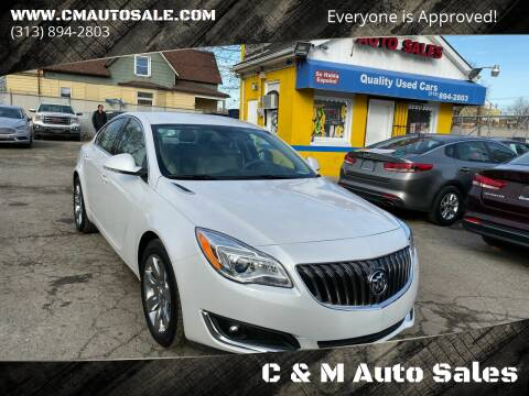 2016 Buick Regal for sale at C & M Auto Sales in Detroit MI
