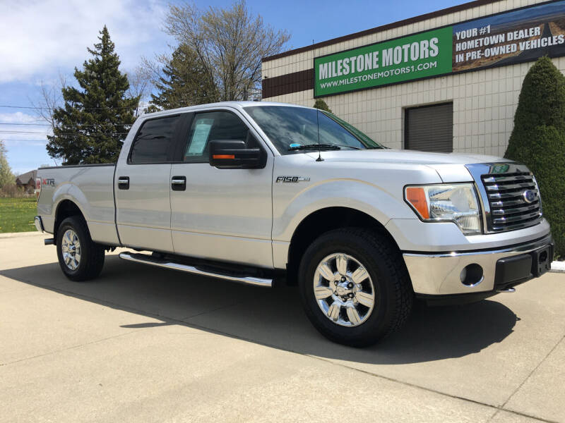 2010 Ford F-150 for sale at MILESTONE MOTORS in Chesterfield MI