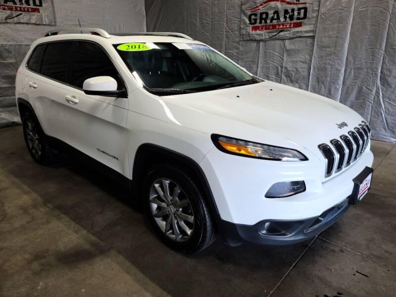 2018 Jeep Cherokee for sale at GRAND AUTO SALES in Grand Island NE