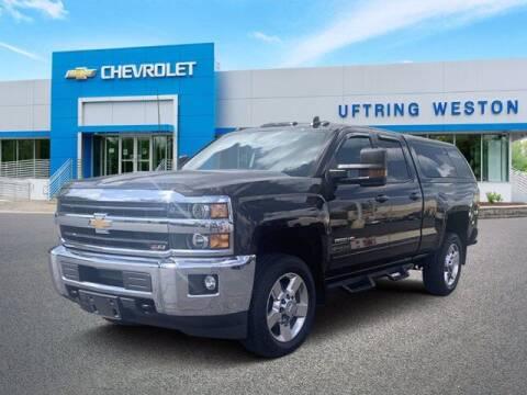 2018 Chevrolet Silverado 2500HD for sale at Uftring Weston Pre-Owned Center in Peoria IL
